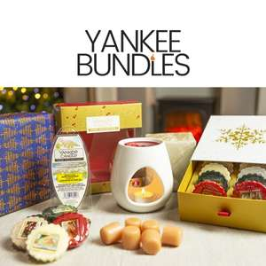 Yankee Candle 20 Piece Festive Warmer Set - £14.25 With New User Code / Otherwise £15 Delivered @ Yankee Bundles