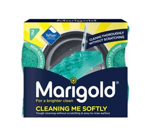 Marigold Cleaning Me Softly Scourer 2 pack 75p @ Wilko