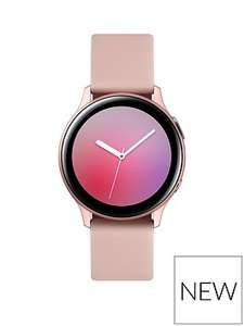 Galaxy Watch Active2 Aluminium 40mm Pink Gold Pre-order with FREE Wireless Charger Duo worth £90 - £269 @ Very