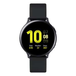 Galaxy Watch Active2 Aluminium 40mm Aqua Black with £25 any watch trade in + Claim Wireless Charger Duo Pad (worth £90) - £244 Samsung Store