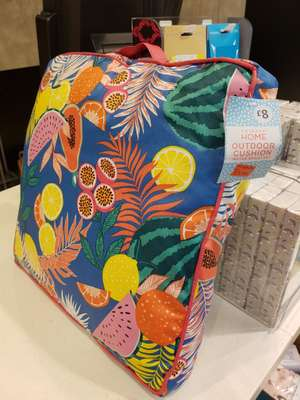 Outdòor cushions @ Primark Northampton was £8 now £3