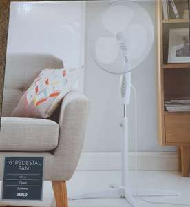 "16"" pedestal fan £10 @ Tesco (Hanley)"