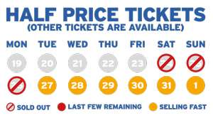 Half Price Summer Sale for tickets at Drayton Manor Park now EXTENDED
