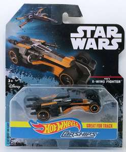 Star Wars Hot Wheels Carships Tie Fighter, Poe's X-Wing Fighter, Millennium Falcon, etc, £1 @ OneBelow, Argyle Street, Glasgow