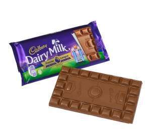 Cadbury's Dairy Milk premier league limited edition 200g bar £1.29 in Heron