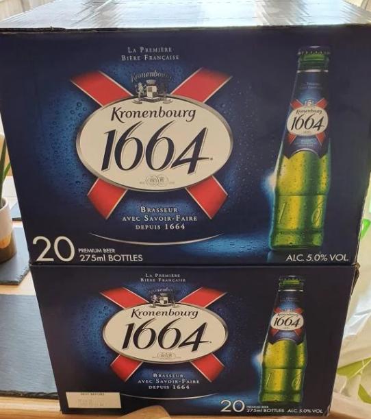 40 x 275ml bottles of Kronenbourg £16 @ Lidl