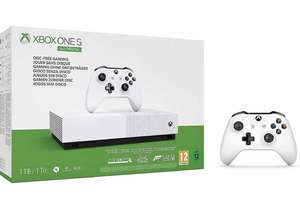 Xbox One S Digital Console with 3 games + Extra Controller £189.99 from Amazon