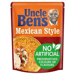 Uncle Bens Microwave Rice for £1 each at Morrisons (all varieties)