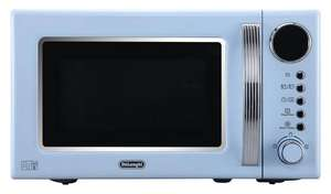 De'Longhi Vintage 700W Standard Microwave - Blue was £54.99 + £5 gift voucher and free click and collect at Argos