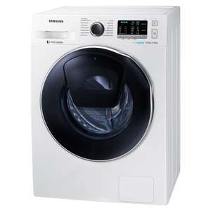SAMSUNG WD90K5B1OOWW 9kg/6kg AddWash Washer Dryer – White with 5 Year Warranty £499 delivered with code @ Appliance City