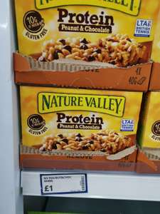 Nature Valley Peanut and Chocolate Protein x 4 Bars - £1 Instore @ Poundstretcher (Eastleigh)