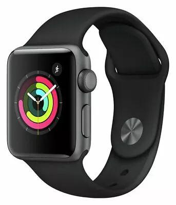 Apple Watch S3 8GB GPS 38mm Water Resistant - Space Grey Alu / Black Sport Band Refurb - £163.99 @ Argos Ebay