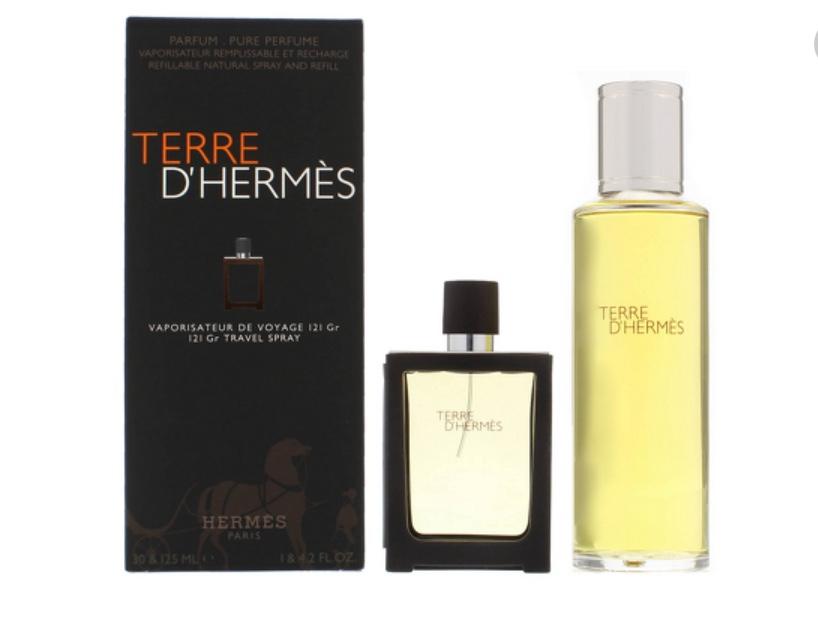 Terre D'Hermes EDP Refillable Spray 30ml  + 125ml Gift Set @ Allbeauty £86 with Code