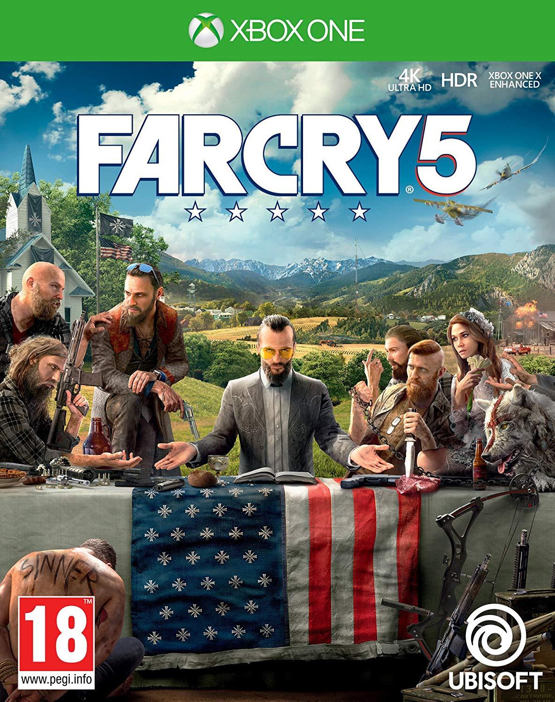 Far Cry 5 (Xbox One), £14.99 at Amazon (+£2.99 Non Prime)
