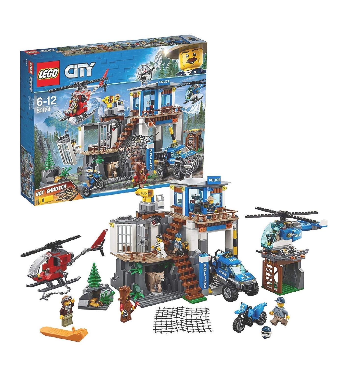 Lego 60174 City Mountain Police - £45.59 @ Amazon