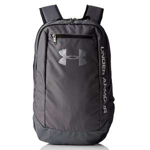 Under Armour Men's Hustle Ld Water Resistant Backpack Laptop (27.6 litres) Graphite Colour - £16.90 @ Amazon Prime / £21.39 Non Prime