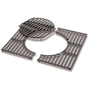 Weber® GBS Cast Iron Cooking Grates 2 Burner - £28.49 (With Code) @ Wowbbq