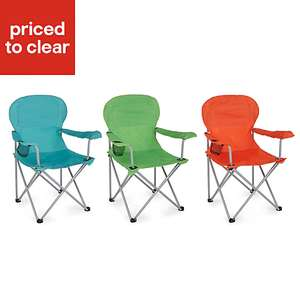B&Q-Molloy Multicolour Foldable Camping/Beach Chair With Carry Bag - £6.00 - Half Price