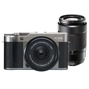Fujifilm X-A5 15-45mm Camera With Free 50-230mm Lens £449 @ Jessops