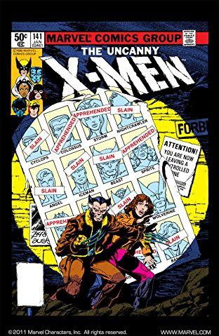 Marvel.com - X-Men #141 & 142 digital comics (full 'Days of Future Past' story) free