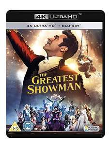 The Greatest Showman 4K UHD £10.72 @ Amazon (£13.71 Non-prime)