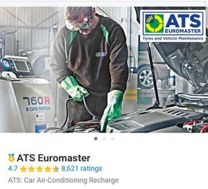 ATS Car Air Conditioning Recharge by ATS Euromaster from £37.99 at Groupon