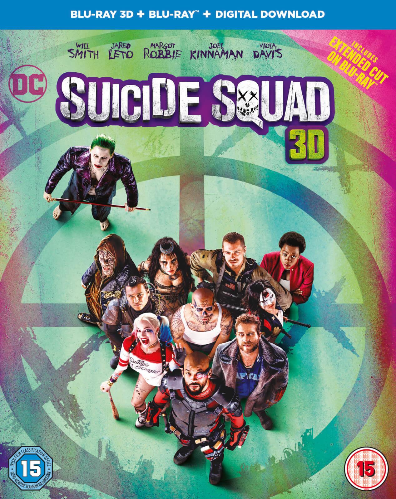 Suicide Squad 3D Blu-Ray + Blu-Ray + Digital Copy £4.51 @ Amazon UK (£7.50 Non-prime)