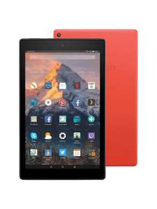 Amazon Fire HD 10 Tablet 2017 with Alexa Hands-Free, Quad-core, Wi-Fi, 64GB, with Special Offers, Punch Red £134.99 @ John Lewis & Partners