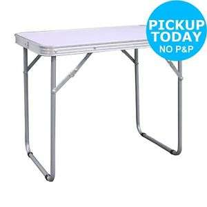 Folding Heat Resistant Steel Frame Camping Table for £13.49 @ Argos eBay (free c&c)