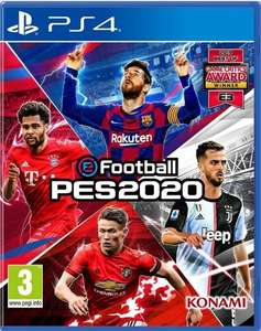 PES 2020 only £34.85 for PS4 and Xbox One @ ShopTo