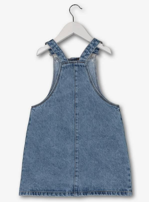 Blue denim pinafore dress (Age 4) £5 @ Argos/TU