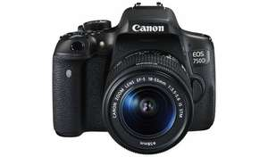 Canon EOS 750D/200D DSLR Camera with 18-55mm Lens, £429 at Argos(Free C&C)