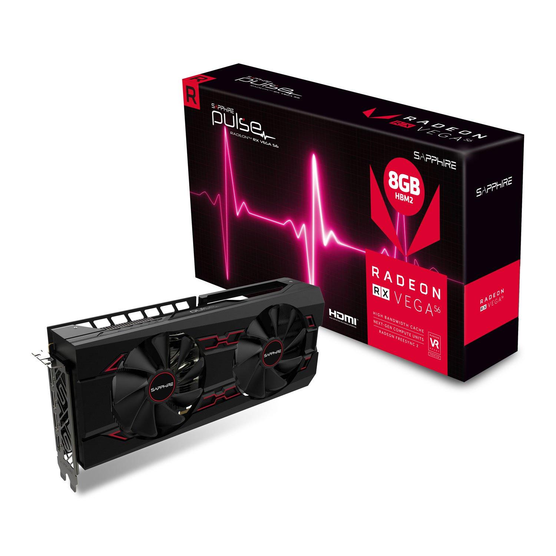 Sapphire AMD Radeon RX VEGA 56 Pulse 8GB HBM2 Graphics Card  £253.48 @ Scan