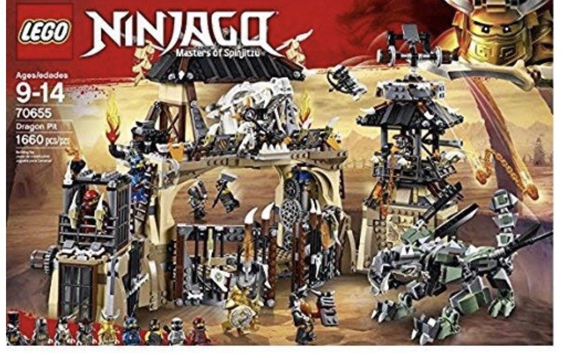 Lego Ninjago 70655 Dragon Pit £63.99 @ john Lewis