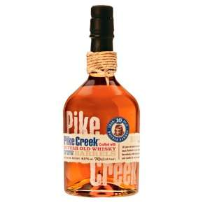Pike Creek 10-yr Canadian whisky 42% abv £20 at Waitrose & Partners