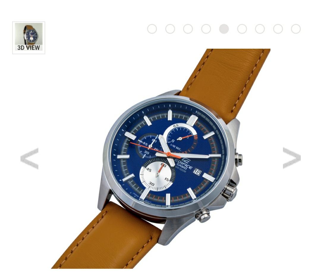 Casio Edifice - Beautiful Blue Face £31 @ Watches2u