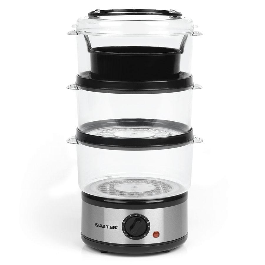Salter EK2726 7.5L Healthy Cooking 3-Tier Food Rice Meat Vegetable Steamer - £14.02 @ Robert Dyas