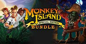 [Steam] Monkey Island Special Edition Bundle Inc Monkey Island SE & Monkey Island 2 SE Le Chucks Revenge PC - £2.18 with code @ Gamersgate