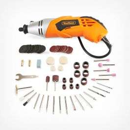 Rotary Multitool & 120 piece Accessory Set with Storage Case - £17.99 delivered @ VonHaus (+2 yrs guarantee)