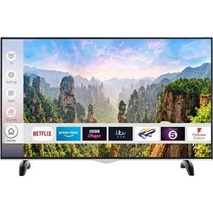 """electriQ 43"""" 4K Ultra HD Smart HDR LED TV with Dolby Vision and Freeview Play - £229.97 @ Laptops Direct"""