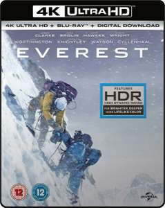 Everest - 4K Ultra HD Blu Ray New/ sealed for £4.99 Delivered @ Ebay/cardboardstory4