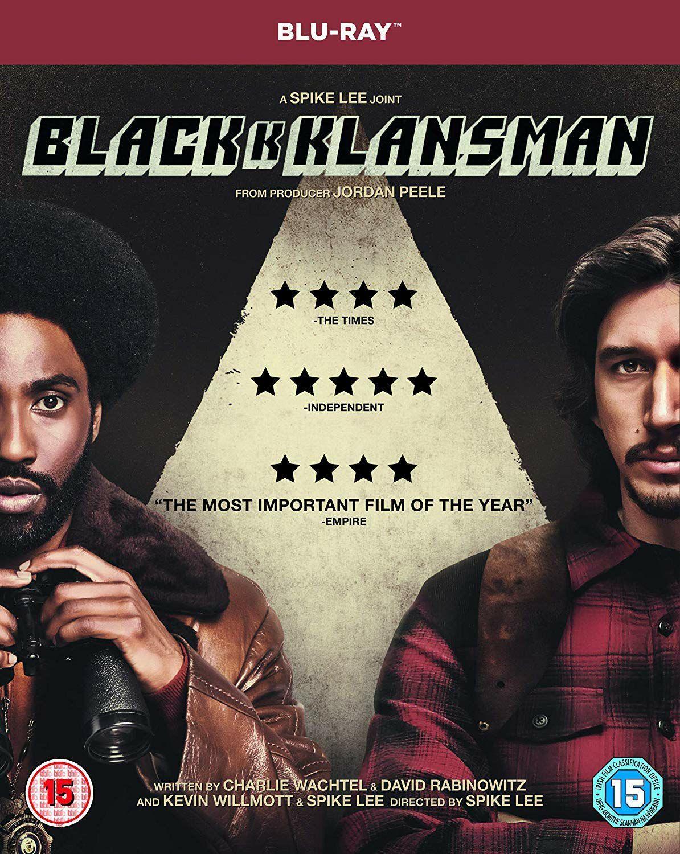 BlacKkKlansman (Blu-ray) £5 (£7.99 Non-Prime) @ Amazon.co.uk