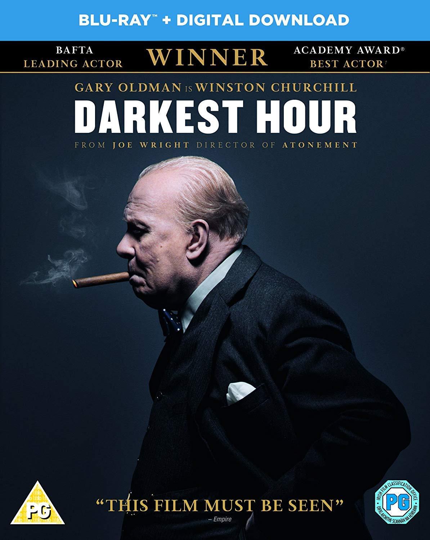 Darkest Hour Blu-ray £5 @ Amazon (£7.99 Non-prime)