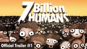 7 Billion Humans for IOS - Usually £4.99 now £1.99
