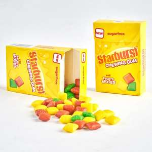 Starburst Chewing Gum 3 for £1 (33.1g) instore at Heron Foods