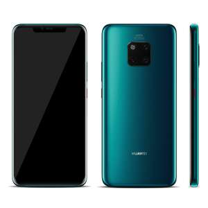 Huawei Mate 20 Pro - Unlocked to all networks  - Dual SIM with 2 years UK Huawei warranty £412 @ Wow Camera