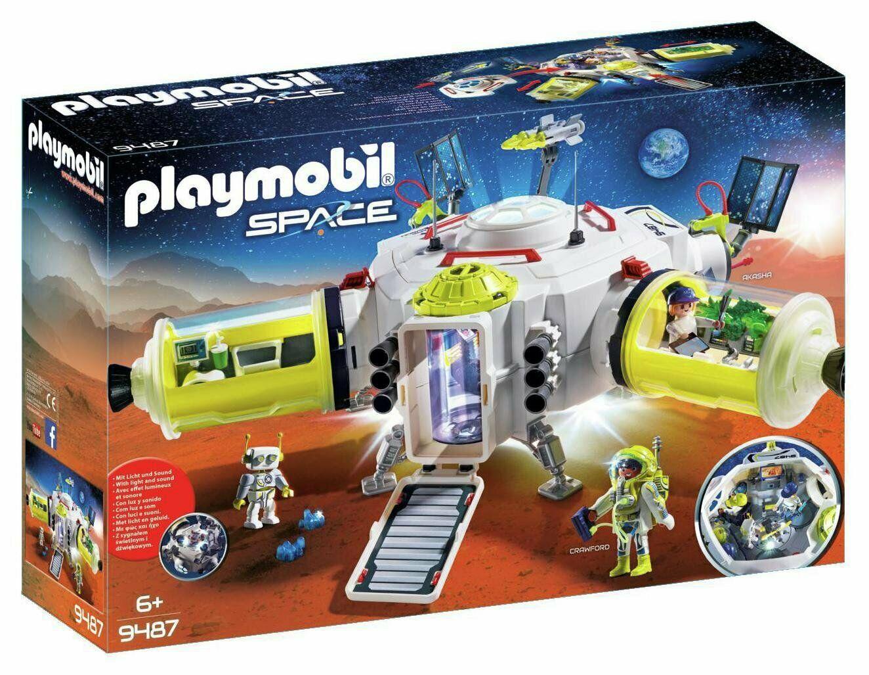 Playmobil 9487 Space Mars Space Station Playset - £52.50 @ Argos eBay