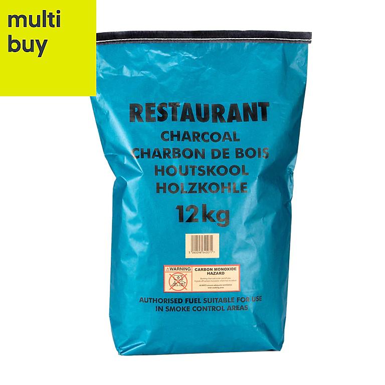 2 x 12kg Restaurant Charcoal @ B&Q - £20