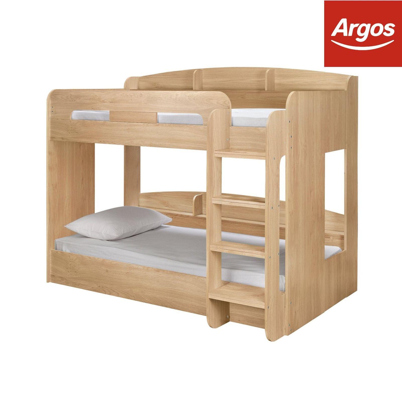 Argos Home Ultimate Oak Effect Single Bunk Bed - £149.99 @ Argos eBay