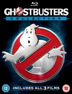 Ghostbusters 1-3 Collection (with Digital HD UltraViolet Copy) [Bank Holiday Blu-ray deal] at Zoom for £10.35